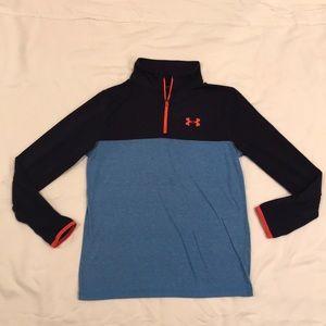 Under Armour HeatGear DryFit 1/4 zip pullover